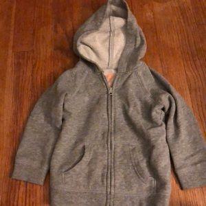 Jumping beans 24 Month gray sweatshirt hoodie